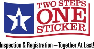 Two Steps One Sticker