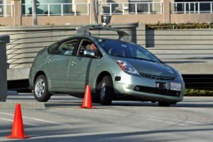 self-guiding car